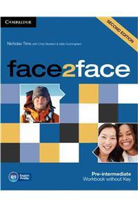 Face2face Pre intermediate Workbook without Key