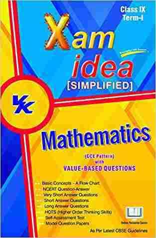 Xam Idea Simplified Mathematics Term- I Class 9th by VK Global