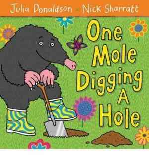 One mole diggi...