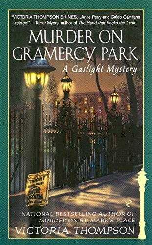 Murder-on-Gramercy-Park-(Gaslight-Mystery,-#3)