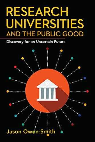 Research-Universities-and-the-Public-Good:-Discovery-for-an-Uncertain-Future
