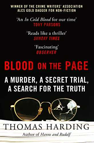 Blood-on-the-Page:-a-Murder,-a-Secret-Trial-and-a-Search-for-the-Truth