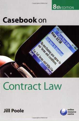 Casebook-on-Contract-Law
