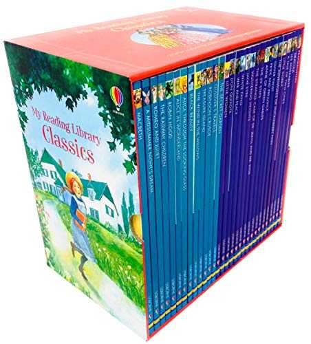 Usborne-My-Reading-Library-Classics-30-Books-Box-Set-Collection