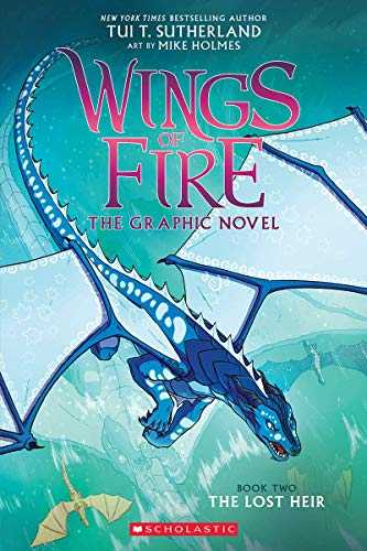 The-Lost-Heir-(Wings-of-Fire-Graphic-Novel,-#2)