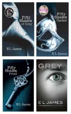 Fifty-Shades-of-Grey,-Fifty-Shades-Darker,-Fifty-Shades-Freed-and-Grey:-Fifty-Shades-of-Grey-As-Told-By-Christian-Set-of-4-books-(Paperback)-by--E-L-James