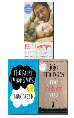 Me-Before-You-by-by-Jojo-Moyes,-The-Fault-in-our-Stars-by-John-Green-and-PS,-I-Love-You-by-Cecelia-Ahern-(Paperback)-Set-of-3-Best-Sellers-Young-Adult-Books