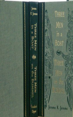 Three-Men-in-a-Boat-and-Three-Men-on-the-Bummel-by-Jerome-K.-Jerome-Hardcover