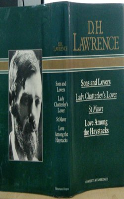 D.-H.-LAWRENCE,-SONS-and-LOVERS,-LADY-CHATTERLEY's-LOVER,-St.-MAWR,-LOVE-AMONG-the-HAYSTACKS-by-D.H.-Lawrence-Hardcover*