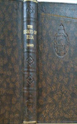 The-Essays-of-Elia-by-Charles-Lamb-Hardcover