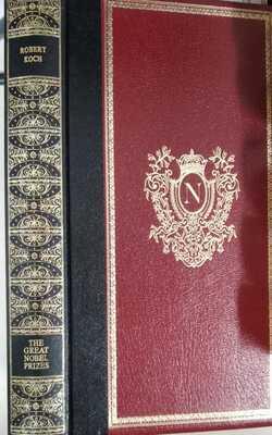 ROBERT-KOCH-(The-Great-Nobel-Prizes)-by-Barlow,-C.-&-P.-Hardcove