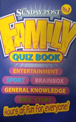 The-Sunday-Post-Family-Quiz-Book